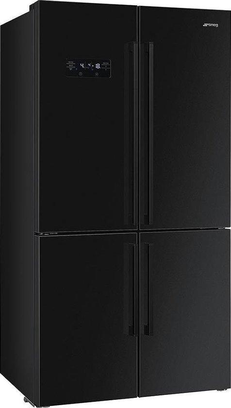 Koelkast: Smeg FQ60N2PE1 Amerikaanse koelkast - Vrijstaand - Zwart - - 541 l - A++, van het merk Smeg