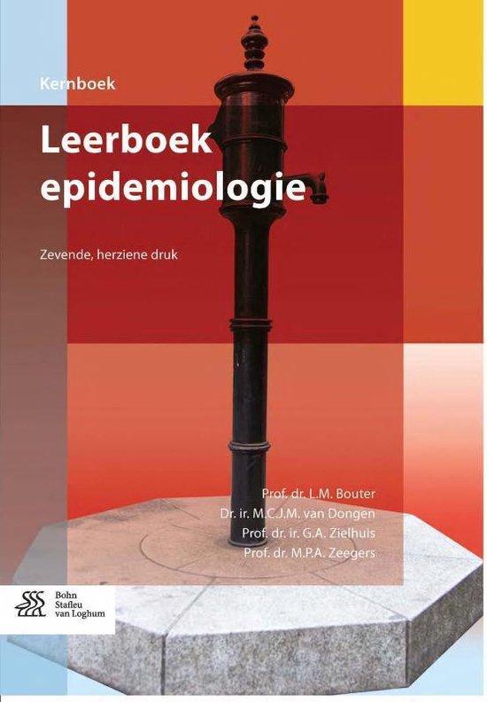 Kernboek - Leerboek epidemiologie