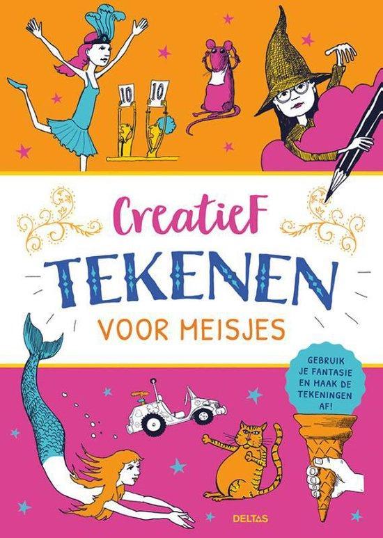 Boek cover Creatief tekenen voor meisjes van  (Paperback)