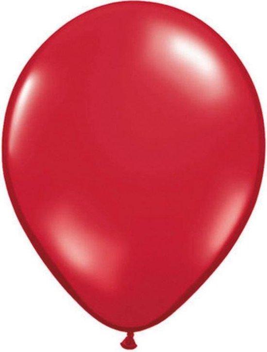 Folat Ballonnen 28 Cm Rood Latex 100 Stuks