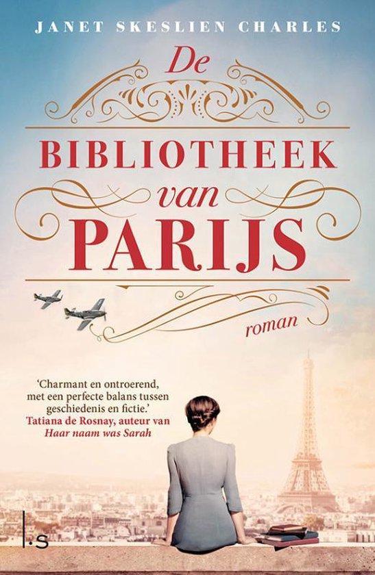 Boek cover De bibliotheek van Parijs van Janet Skeslien-Charles (Paperback)