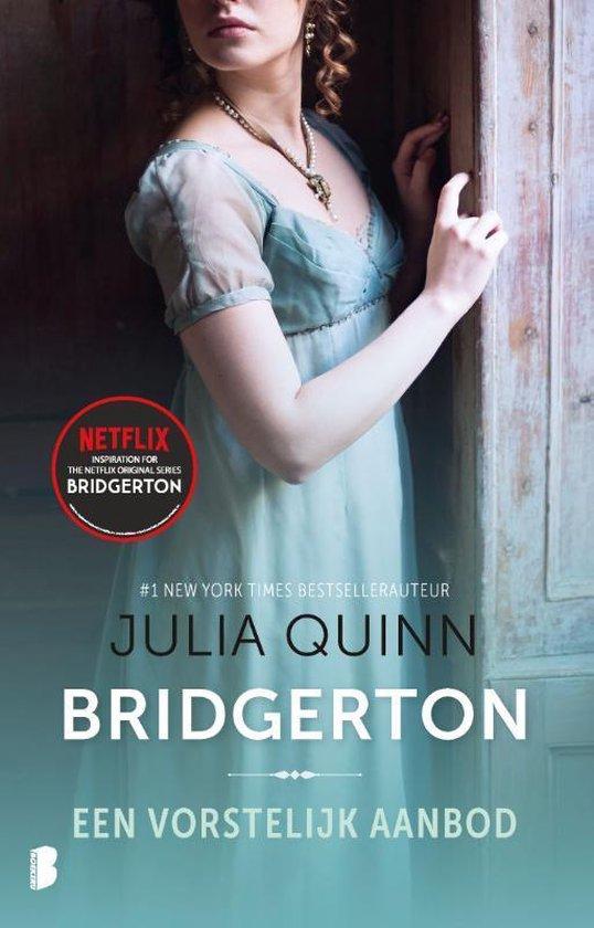 Boek cover Familie Bridgerton 3 -   Een vorstelijk aanbod van Julia Quinn (Paperback)