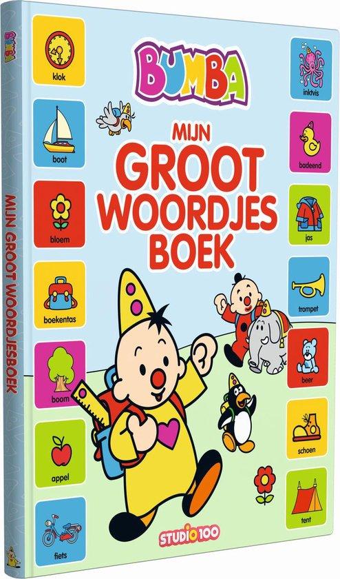 Boek cover Bumba  -   Mijn groot woordjesboek van Gert Verhulst (Hardcover)
