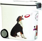 Curver - Voedselcontainer Hond - Wit - 35L - 12kg