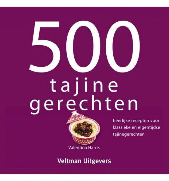 Boekomslag voor 500 tajine gerechten