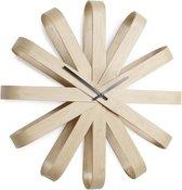Umbra Ribbonwood Wandklok- hout - Ø 51.4 cm