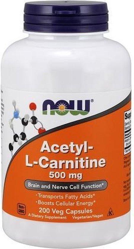 Acetyl-L Carnitine 200v-caps