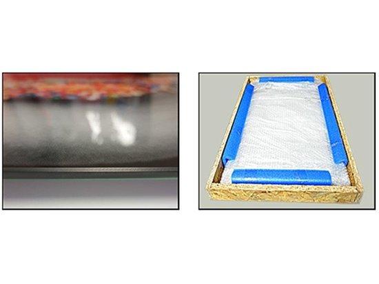 Glasschilderij Spa   Rood, Grijs, Zwart   160x80cm 4Luik   Foto print op Glas    F006145