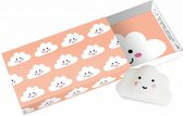 Paper Art Greeting box Blanco wolkjes