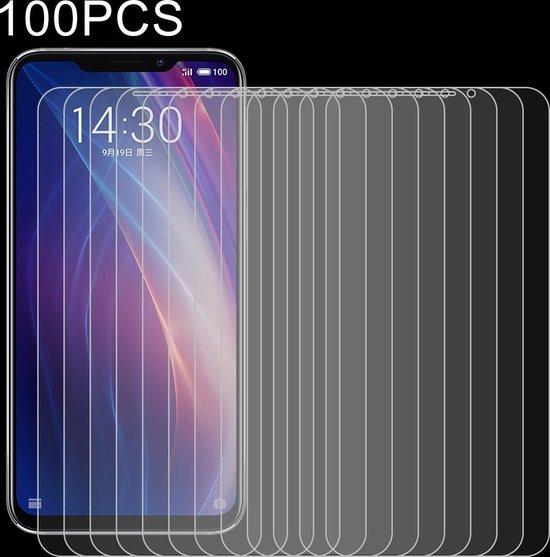 Let op type!! 100 stuks 0 26 mm 9H 2.5D explosieveilige getemperd glas Film voor Meizu X 8