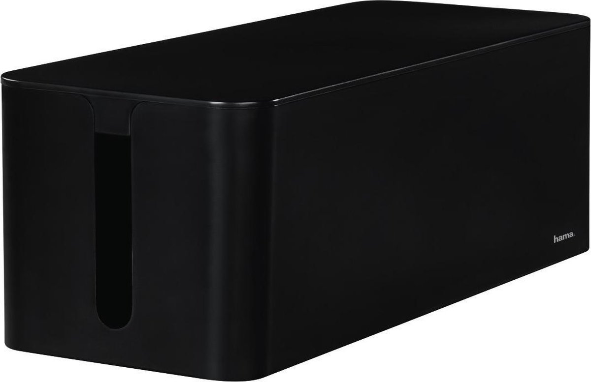 Hama Opbergbox Stekkerdoos Maxi - Zwart