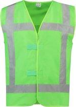 Tricorp veiligheidsvest reflectie - 453014 - groen - maat 3XL-4XL