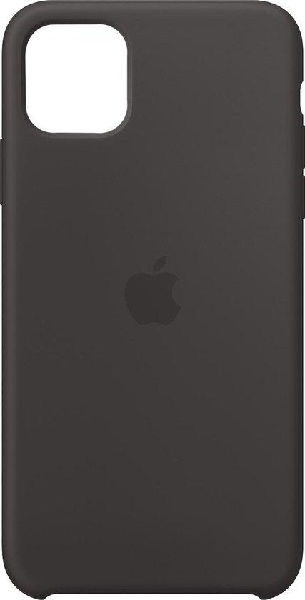 Apple Siliconen Hoesje voor iPhone 11 Pro Max - Zwart