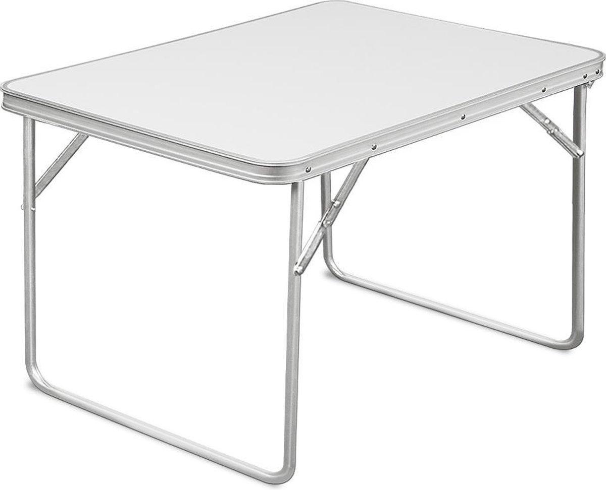 Aluminium inklapbare tuintafel campingtafel 80x60x68 cm