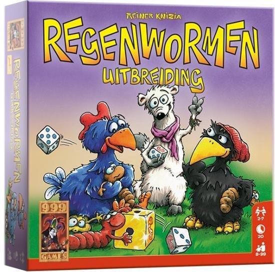 Afbeelding van het spel Regenwormen Uitbreiding - Dobbelspel