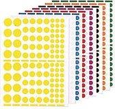 Agipa Stickers 1.040 stuks cirkels