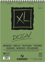 CANSON XL DESSIN TEKENBLOK - A4 160GRAM 50VEL SPIRAAL