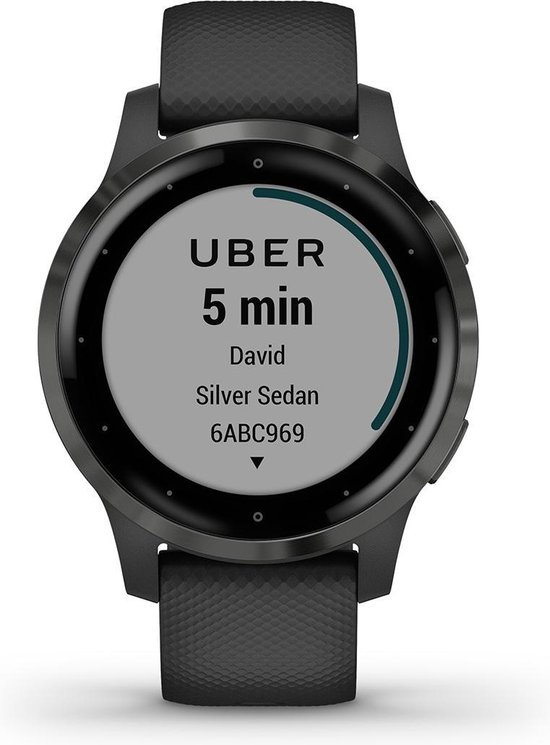 Garmin Vivoactive 4S - Smartwatch - 40 mm - Zwart