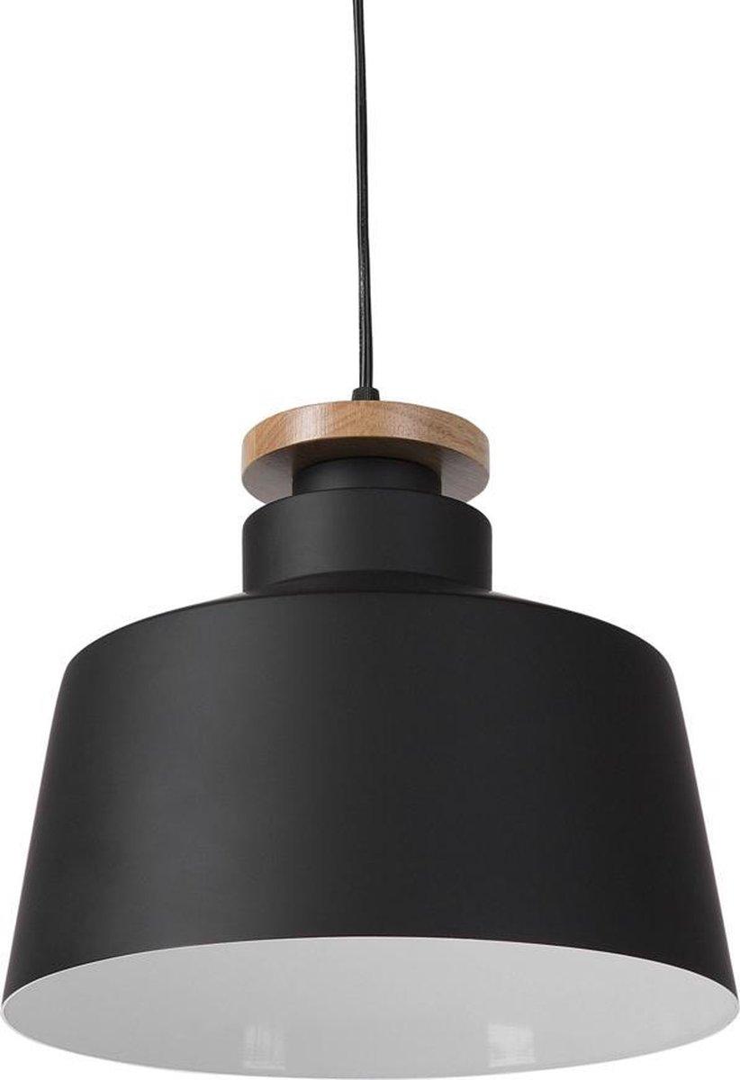 Beliani Hanglamp Danube zwart - Aluminium