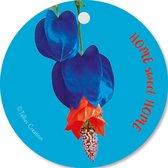 Tallies Cards - kadokaartjes  - bloemenkaartjes - Home sweet home - Flowerpower - set van 5 kaarten - welkom thuis - 100% Duurzaam
