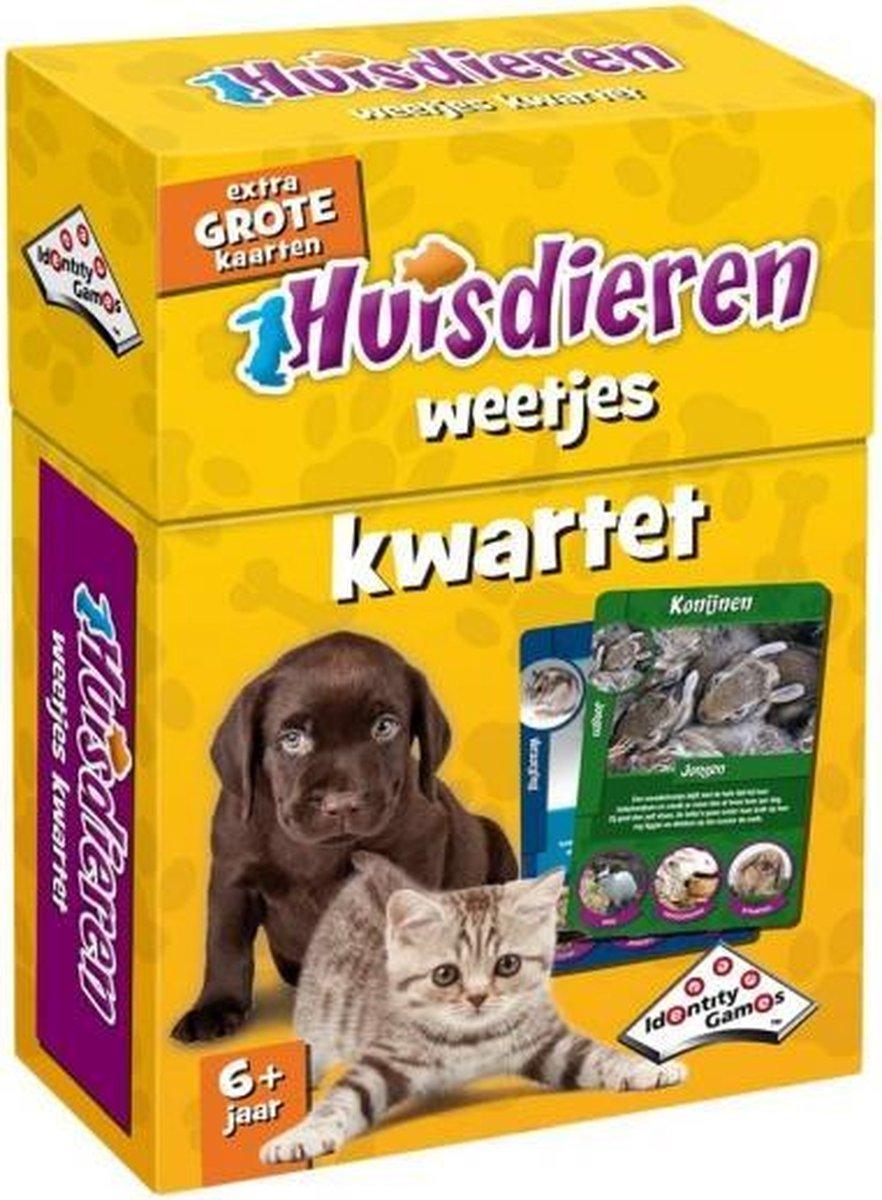 Kwartet Huisdieren - Kaartspel