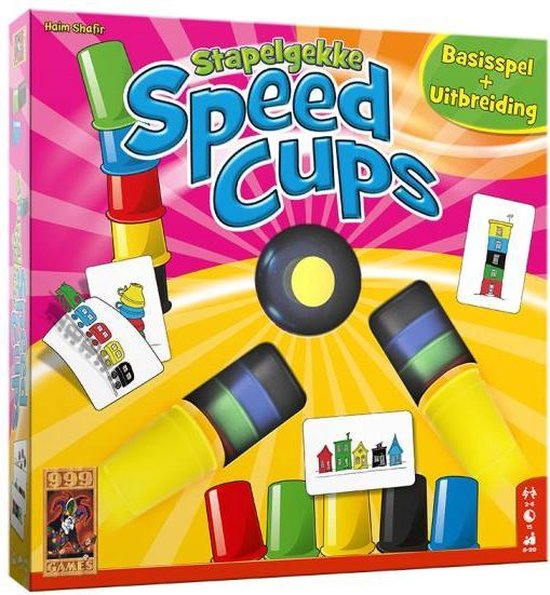 Afbeelding van het spel Stapelgekke Speedcups - 6 spelers