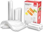 Solis 5 Vacuümrollen & 50 Vacuümzakken - BPA-vrij - Voordeelverpakking