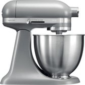KitchenAid Mini 5KSM3311X - Keukenmachine - Mat grijs