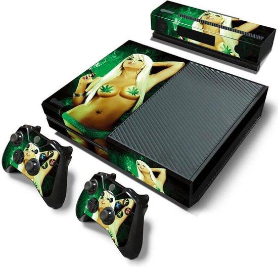 Lady Marihuana- Xbox One skin
