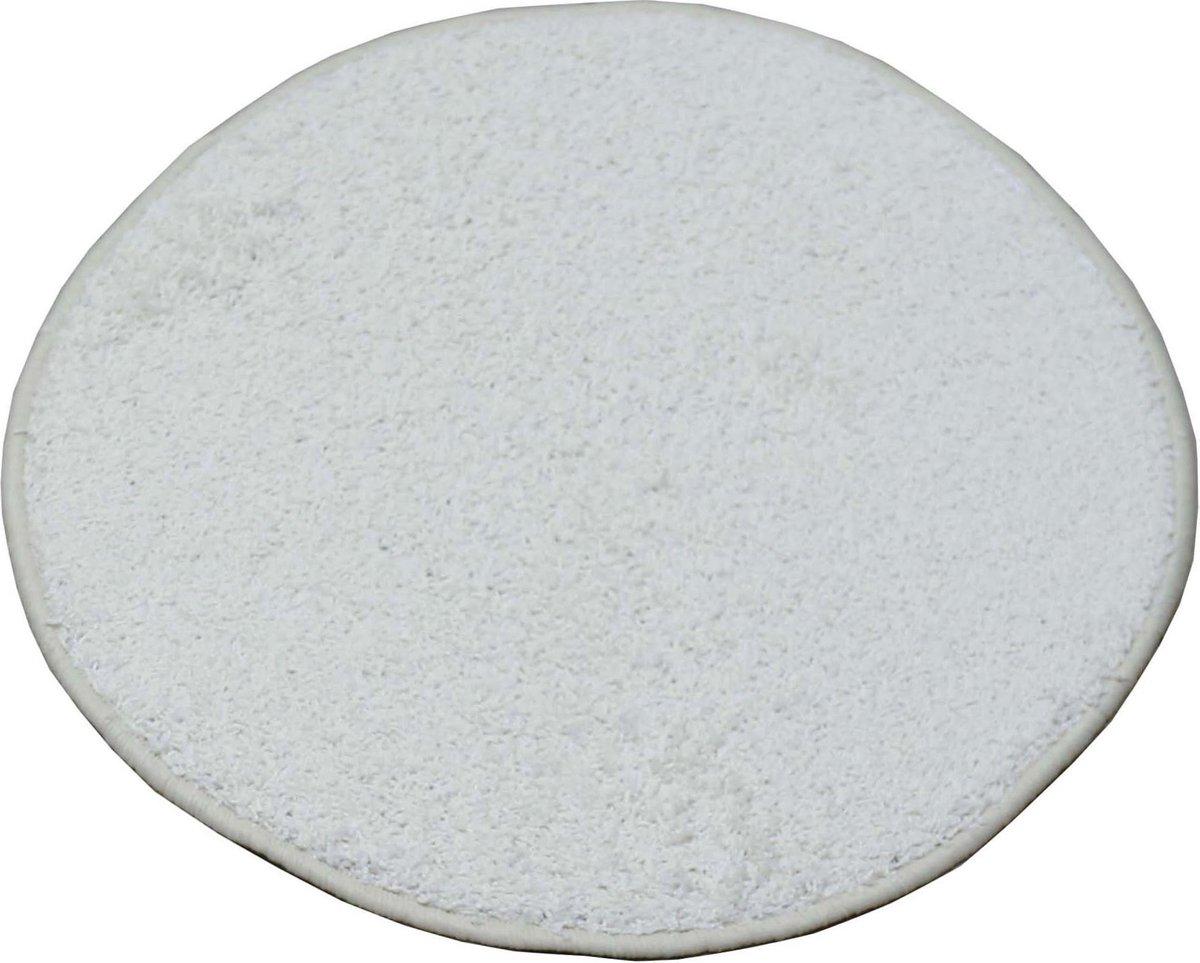 Karpet Batan - Wit - 200 cm Rund - Carpe mathique