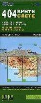 404 Wandelkaart Kreta: Psiloritis-Matala, Psiloritis-Agii Deka 1:50.000 Oost-Kreta - Road Editions 404