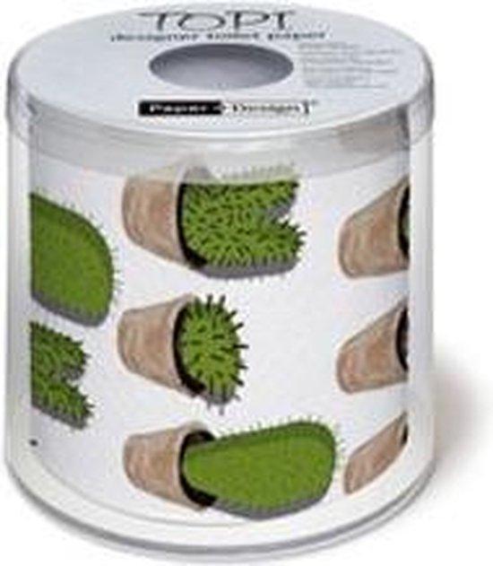 Toiletpapier met cactus 3 laags