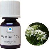 Valeriaan Olie 10% - 10ml Druppels Etherische Olie