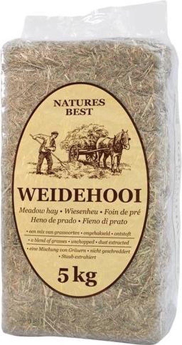 Natures Best Weidehooi Bodembedekking 5 KG - Nature's Best