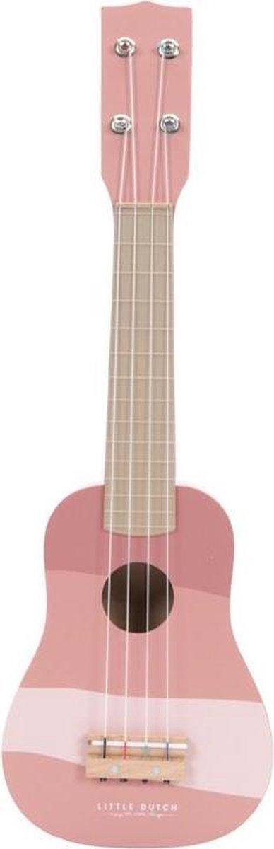 Little Dutch Gitaar pink