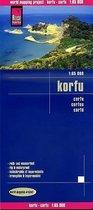 Reise Know-How Landkarte Korfu / Corfu
