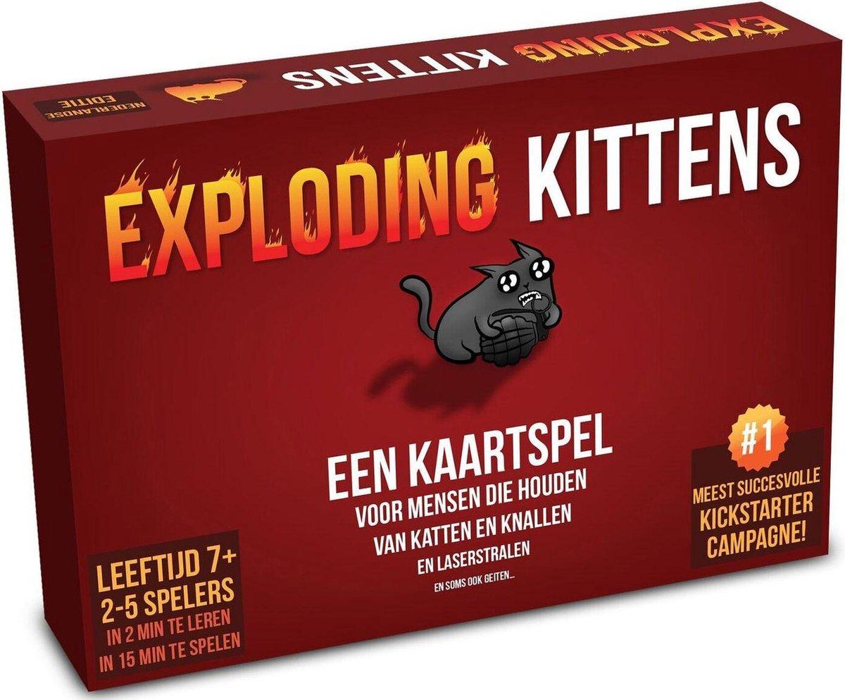 Exploding Kittens Originele Editie - Nederlandstalig Kaartspel - Exploding Kittens