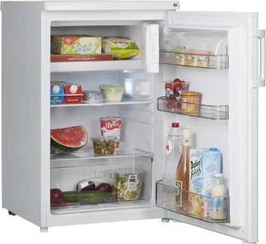 Koelkast: ETNA KVV555WIT - Tafelmodel koelkast met vriesvak - wit - 55 cm, van het merk ETNA