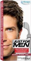 Just For Men Autostop Middenbruin - Haarkleuring - 35gram