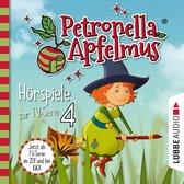 Omslag Petronella Apfelmus, Teil 4: Verhexte Bäckerei, Das Band der Freundschaft, Hexengeburtstag, Aufprall mit Folgen