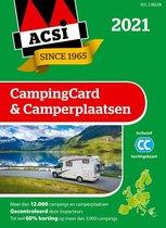 Boek cover ACSI Campinggids  -   ACSI CampingCard & Camperplaatsen 2021 van Acsi