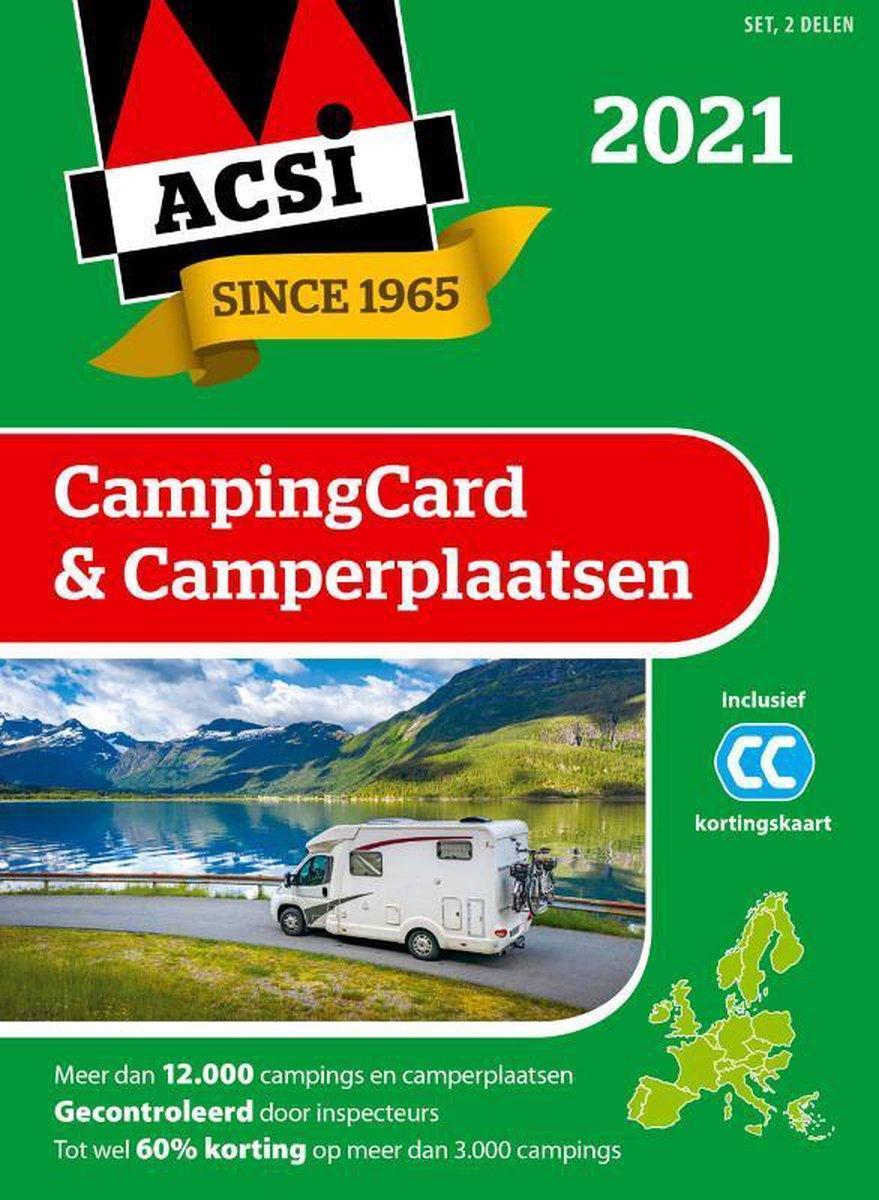 ACSI Campinggids  -   ACSI CampingCard & Camperplaatsen 2021