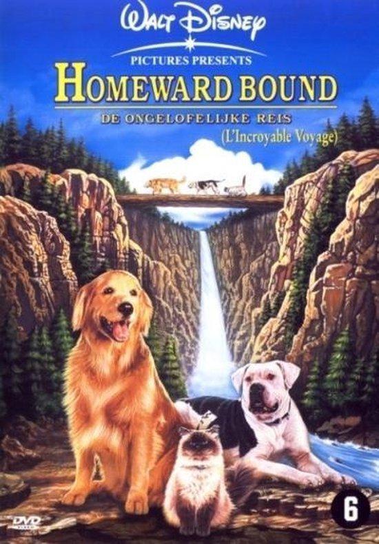 Cover van de film 'Homeward Bound - The Incredible Journey'