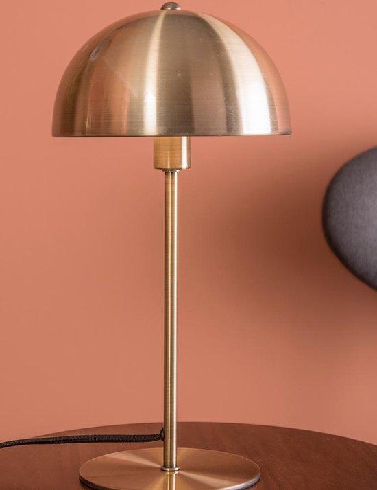 Leitmotiv Bonnet - Tafellamp - IJzer - Ø20 x 39 cm - Goud