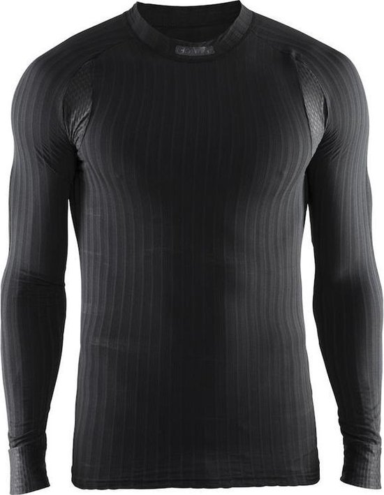 Craft Active Extreme 2.0 Cn Ls Heren Trainingsshirt - Black - L