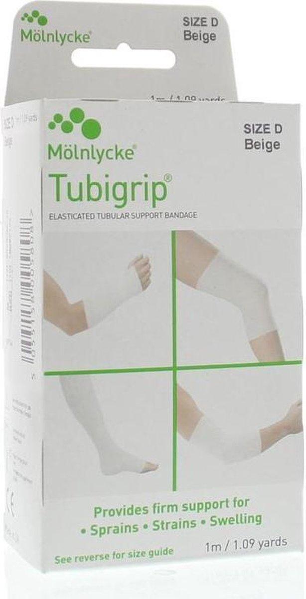 Tubigrip D - beige - 1 maat- Brace