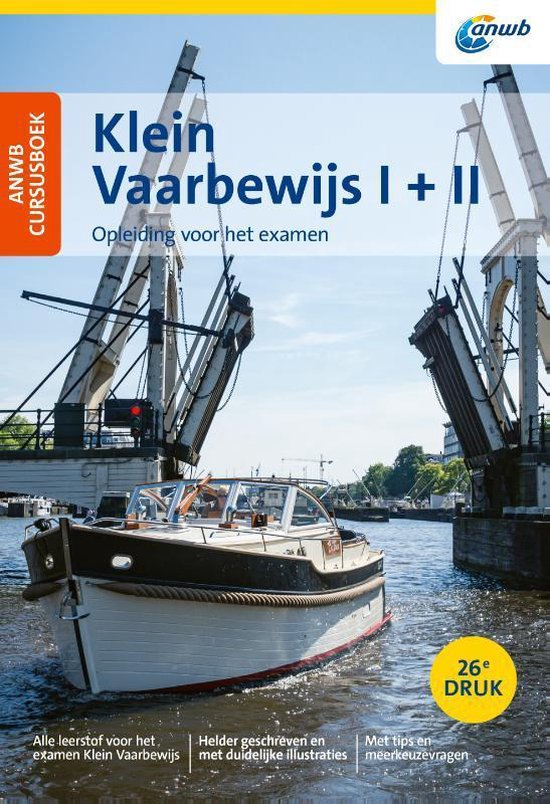 ANWB - Cursusboek Klein Vaarbewijs I + II - Eelco Piena |