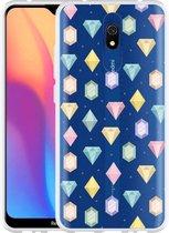 Xiaomi Redmi 8A Hoesje Diamonds
