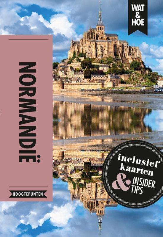Boek cover Normandië van Wat & Hoe Hoogtepunten (Paperback)