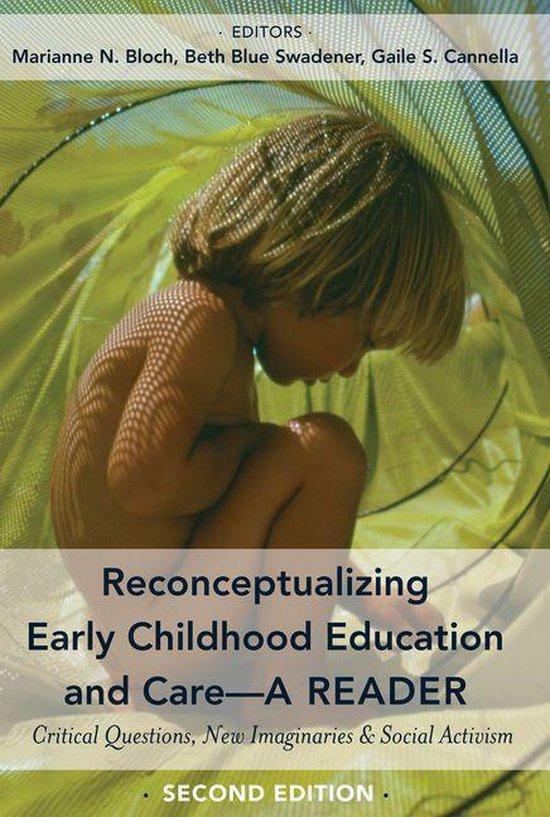 Omslag van Reconceptualizing Early Childhood Education and CareA Reader